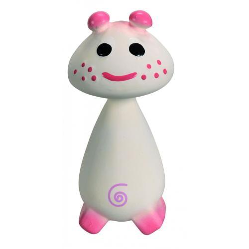 Chan Pie Gnon - jucarie cauciuc natural Roz - Jucarii bebelusi -
