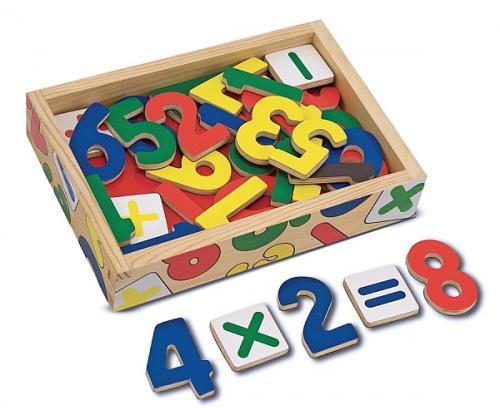 Cifre Magnetice Melissa And Doug - Jocuri pentru copii - Jocuri magnetice