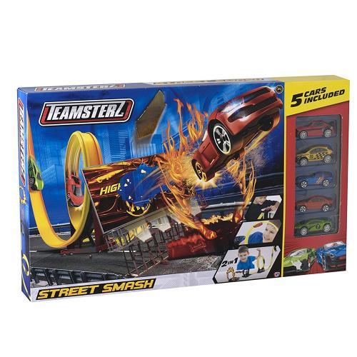 Circuit Street Smash cu 5 masini - Jucarii copilasi - Avioane jucarie