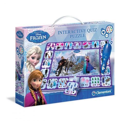 Clementoni Disney puzzle interactiv (35 buc) - Frozen - Jucarii copilasi - Jucarii educative bebe