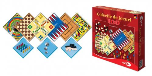 Colectie 100 jocuri - Jocuri pentru copii - Jocuri societate