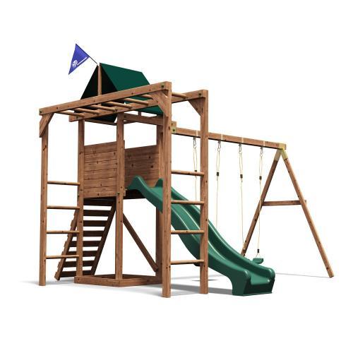 Complex de joaca MonkeyFort Dunster House - Jucarii exterior - Complex de joaca