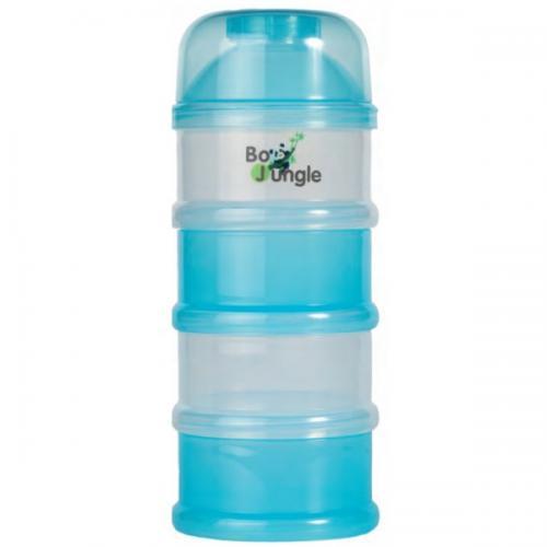 Containere albastre lapte praf BO Jungle cu 4 compartimente - Hrana bebelusi - Accesorii alimentare