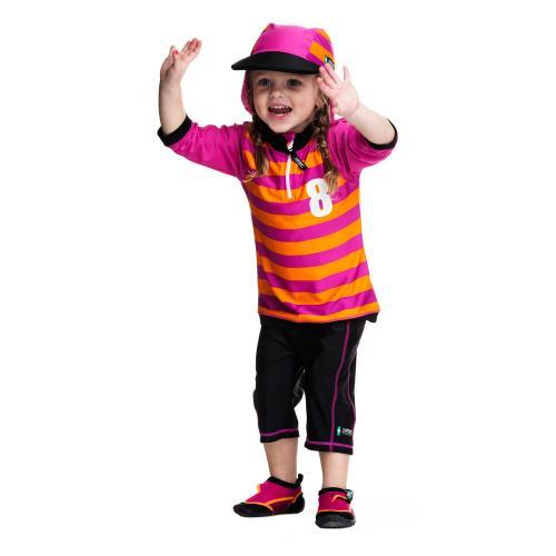 Costum De Baie Sport Pink Marime 92- 104 Protectie Uv Swimpy - Echipament inot -
