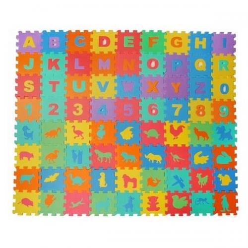 Covor puzzle 72 piese Iso Trade MY17387 - Jocuri pentru copii - Jocuri cu puzzle
