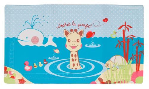 Covoras Pentru Cada Cu Indicator De Temperatura Girafa Sophie - Igiena ingrijire - Cadita bebe