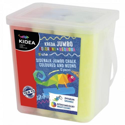 Creta Jumbo 12 Buc Kidea - Rechizite - Creione carioci