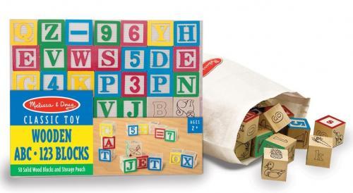 Cuburi Litere Si Numere - 50 Buc - Jucarii bebelusi -