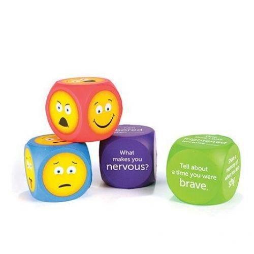 Cuburi pentru conversatii - EMOJI - Jucarii copilasi - Jucarii lingvistica