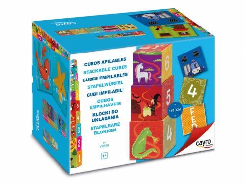 Cuburi stacabile - Cayro - Jucarii copilasi - Jucarii educative bebe