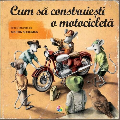 Cum sa construiesti o motocicleta - Carti  -