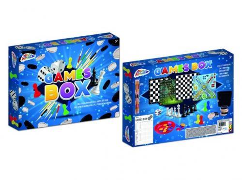 Cutie cu jocuri - Jocuri pentru copii - Jocuri societate