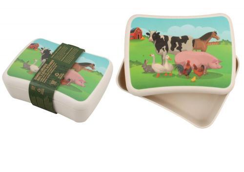 Cutie pentru pranz din bambus- Animalute domestice - Hrana bebelusi - Accesorii alimentare