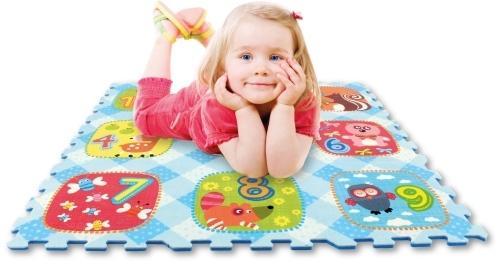Dale din cifre 9 piese - Jucarii copilasi - Jucarii educative bebe
