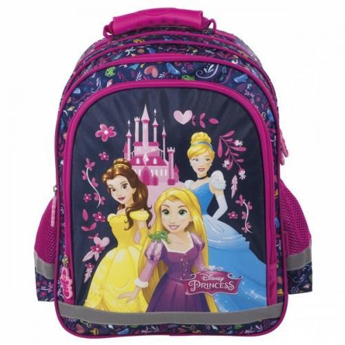Derform - Ghiozdan Disney Princess pentru scoala - Rechizite - Ghiozdane si trolere
