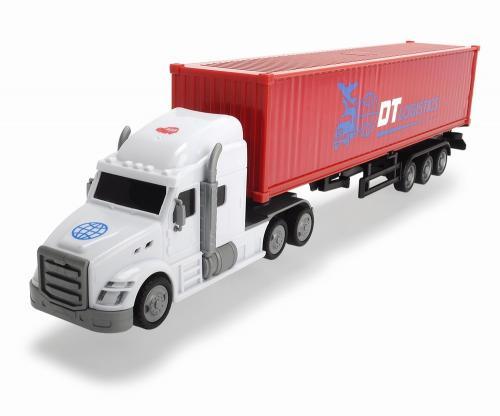 Dickie camion container cu remorca 42 cm - Jucarii copilasi - Avioane jucarie