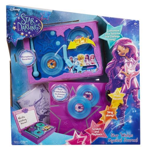 Disney Jurnalul muzical Star Darlings - Jucarii copilasi - Jucarii educative bebe
