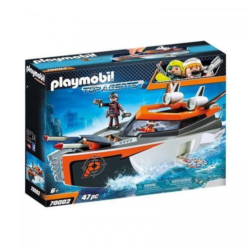 Echipa De Spioni Cu Barca Turbo - Jucarii Playmobil -