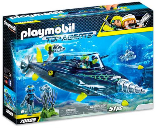 Echipa Shark Cu Submarin - Jucarii Playmobil -