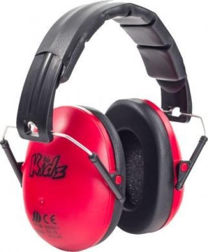 Edz Kidz Casca impotriva zgomotului - antifon - rosu - Articole pentru mamici -
