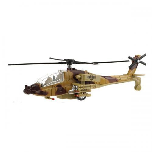 Elicopter militar cu luminite - Jucarii copilasi - Avioane jucarie