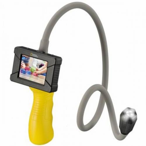 Endoscop National Geographic cu camera cu LED si lungime de 68 cm - Jucarii copilasi - Jucarii stiintifica