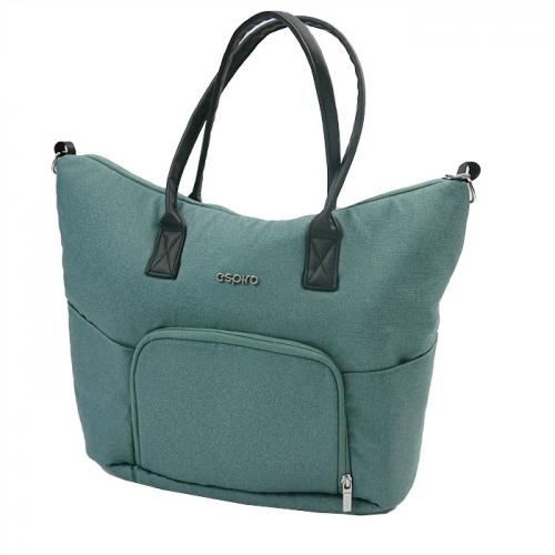 Espiro geanta pentru mamici - 05 Turquoise - Plimbare bebe - Genti carucioar