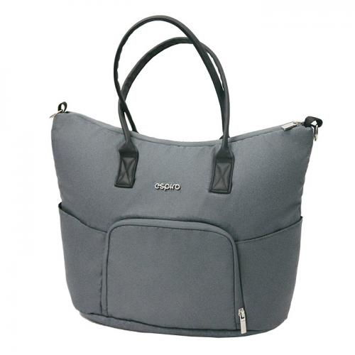 Espiro geanta pentru mamici - 07 Gray - Plimbare bebe - Genti carucioar