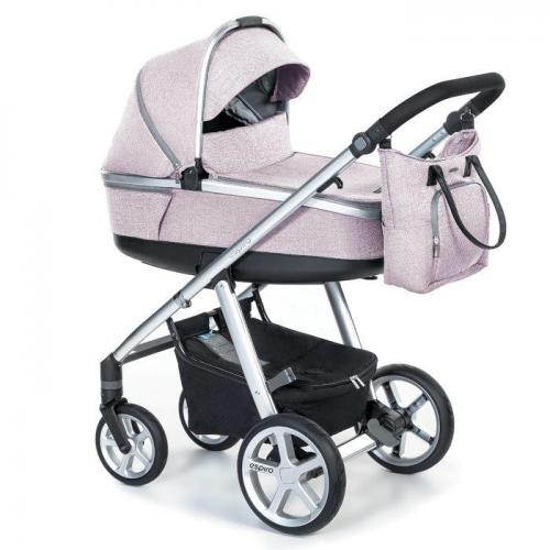 Espiro Next Melange 21 Air carucior multifunctional 2 in 1 - 08 Pink Walk 2020 - Carucior bebe -