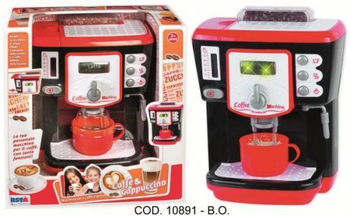 Espressor cafea RS Toys functional cu apa cu accesorii - Jucarii copilasi -