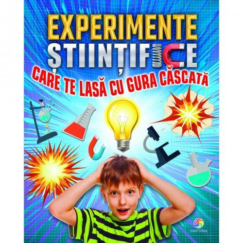 Experimente stiintifice care te lasa cu gura cascata - Carti  -