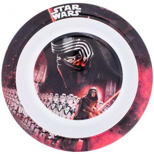 Farfurie adanca melamina Star Wars Lulabi 8340202 - Hrana bebelusi - Accesorii alimentare