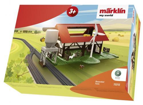 Ferma de la calea ferata Marklin My World - Jucarii copilasi - Avioane jucarie