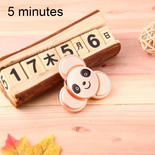 Fidget Spinner - Panda Roz - Aliaj de Aluminiu - 5 min timp de rotire - Jucarii copilasi -