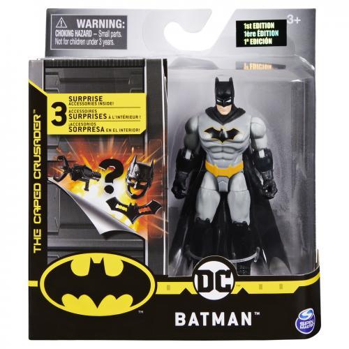 Figurina batman 10cm cu 3 accesorii surpriza - Jucarii copilasi - Figurine pop