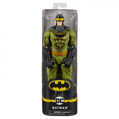 Figurina batman 30cm in costum verde camuflaj - Jucarii copilasi - Figurine pop