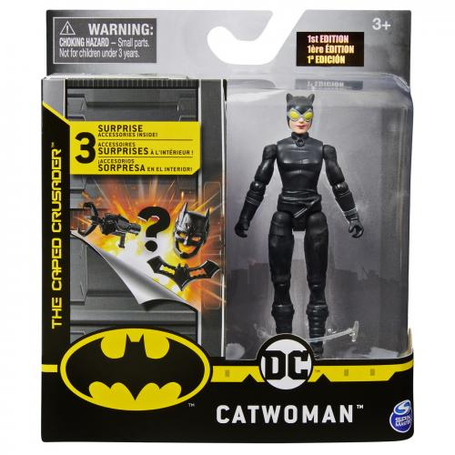 Figurina catwoman 10cm cu 3 cate accesorii - Jucarii copilasi - Figurine pop