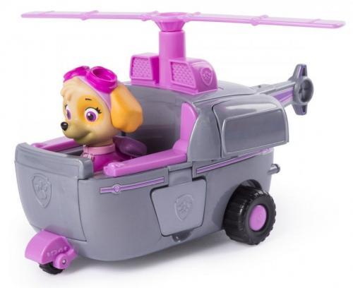 Figurina cu autovehicul paw patrol elicopterul lui skye - Jucarii copilasi - Figurine pop