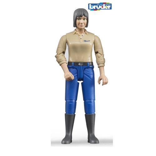 Figurina femeie cu pantaloni bleumarin - Jucarii copilasi - Figurine pop