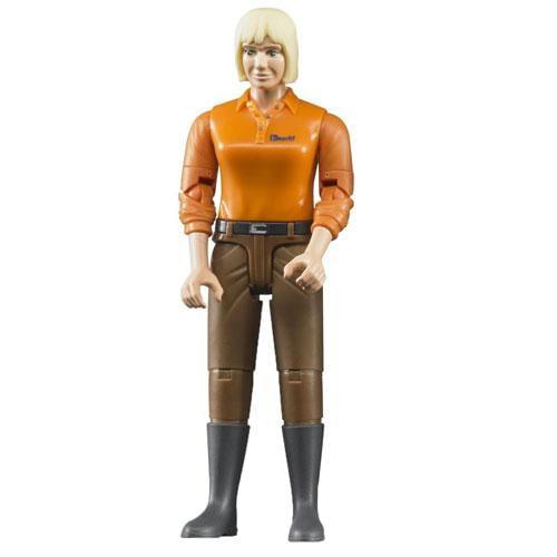 Figurina femeie cu pantaloni maro - Jucarii copilasi - Figurine pop