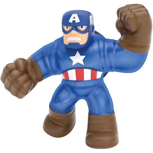 Figurina Marvel Heroes of Goo Jit Zu Captain America - Jucarii copilasi - Figurine pop