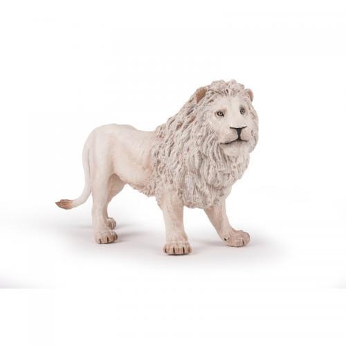 Figurina Papo - Leu alb (Mare) - Jucarii copilasi - Figurine pop