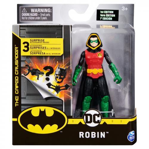 Figurina robin 10cm flexibila cu 3 accesorii surpriza - Jucarii copilasi - Figurine pop