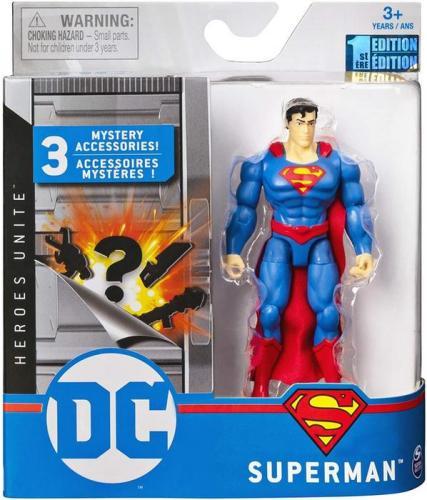 Figurina superman 10cm flexibila cu accesorii - Jucarii copilasi - Figurine pop