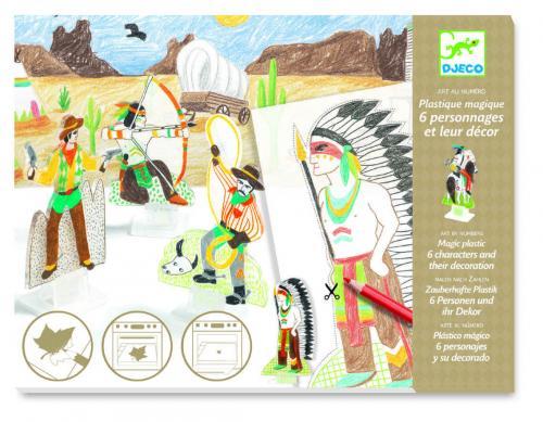 Figurine magice djeco - indieni - Jucarii copilasi - Toys creative