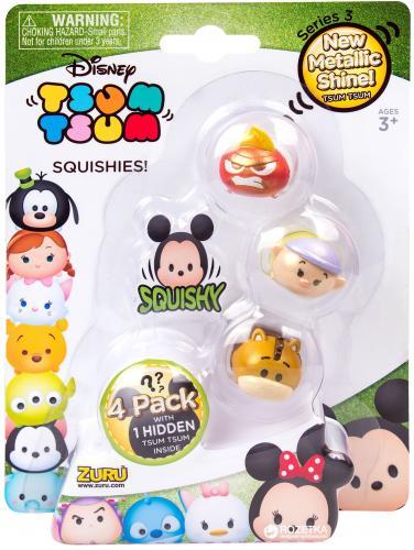 Figurine Tsum Tsum Seria 3 - 4 buc - Jucarii copilasi - Figurine pop