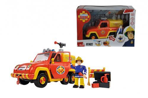 Fireman sam masina de pompieri venus figurina - Jucarii copilasi - Figurine pop
