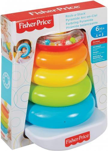Fisher price construieste piramida - Jucarii bebelusi -