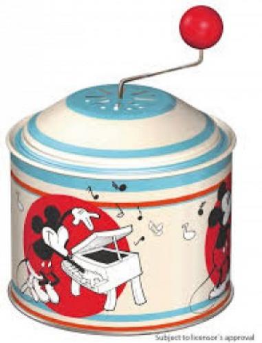 Flasneta muzicala pentru copii Lena Mickey Mouse metalica - Jucarii copilasi - Arta indemanare