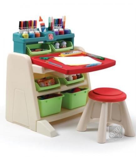 Flip & Doodlle Easel Desk New - Jucarii exterior - Complex de joaca